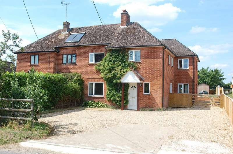 4 Bedrooms Semi Detached House for sale in Goodworth Clatford HAMPSHIRE