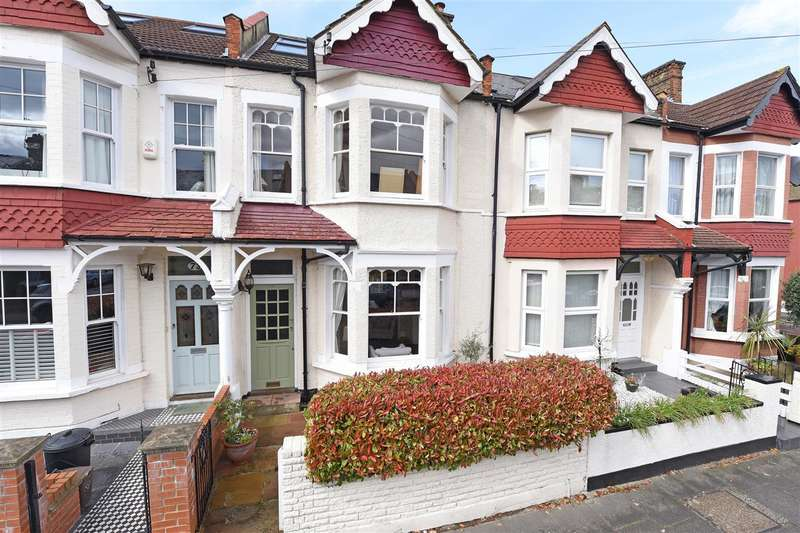 4 Bedrooms Terraced House for sale in Ashen Grove, Wimbledon Park