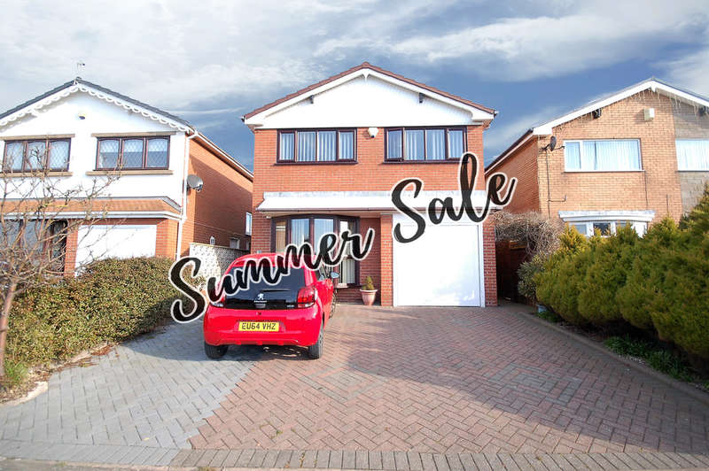 4 Bedrooms Detached House for sale in Vicarage Lane, Blackpool