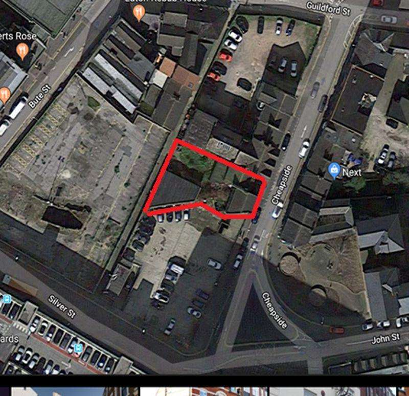 Land Commercial for sale in Town centre residential development opportunity
