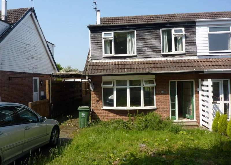 3 Bedrooms Semi Detached House for sale in Conway Drive, Shepshed, Loughborough, LE12 9PP
