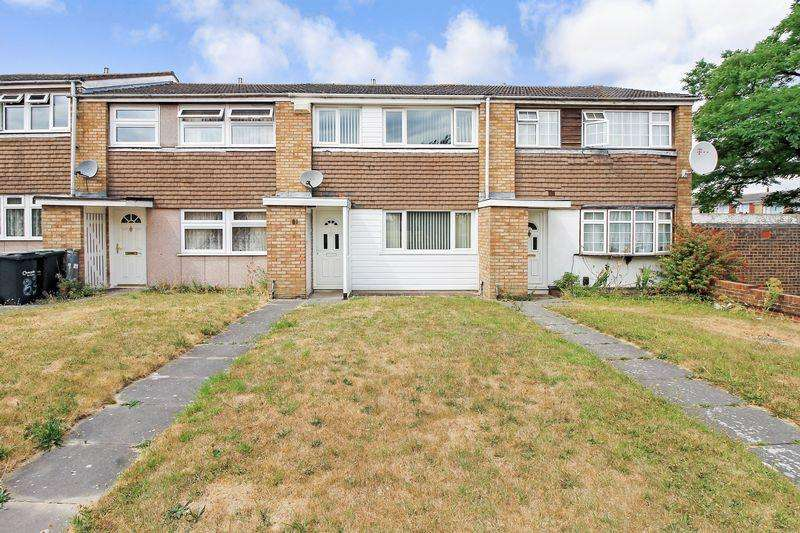 3 Bedrooms Terraced House for sale in Thrales Close, Luton