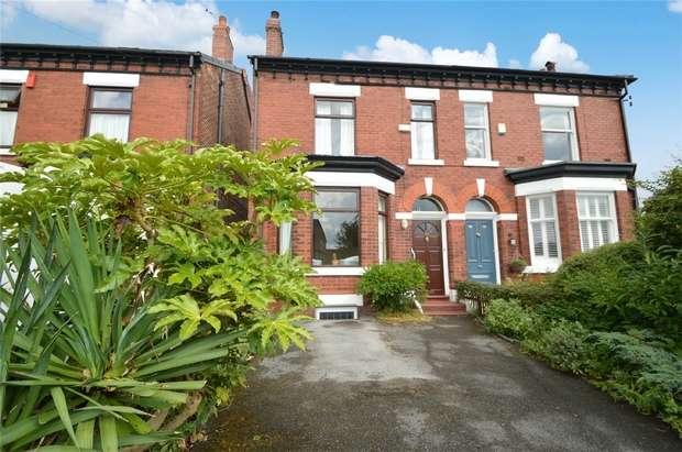 3 Bedrooms Semi Detached House for sale in Woodsmoor Lane, Woodsmoor, Stockport, Cheshire