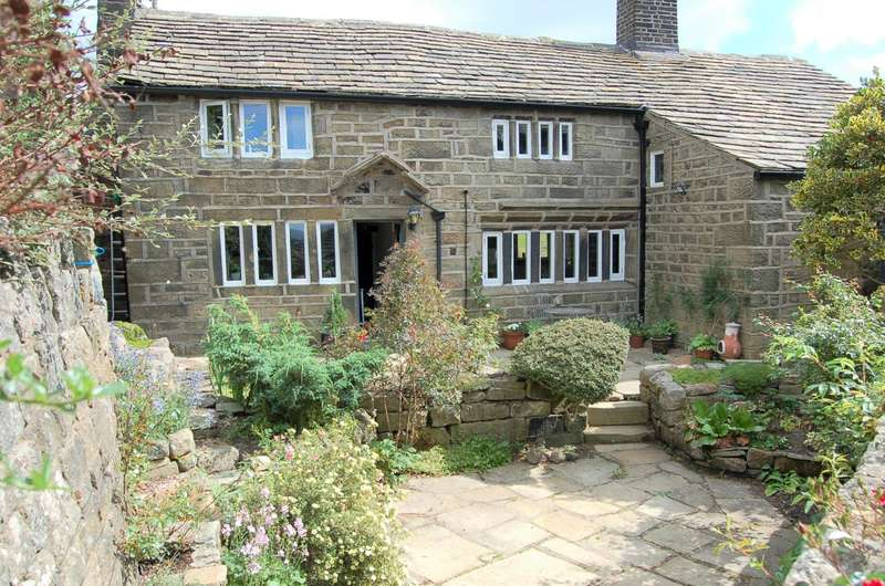 4 Bedrooms Detached House for sale in Crabtree Fold, Old Town, Hebden Bridge, HX7