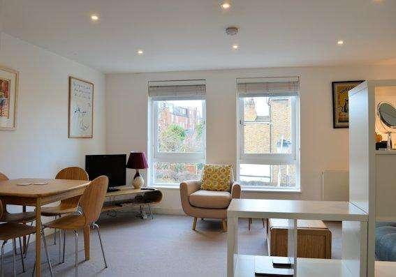 1 Bedroom Flat for sale in Brecknock Road, Tufnell Park, London N19