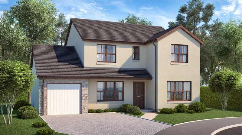 4 Bedrooms Detached House for sale in The Barlass, Plot 7b, Moulin View, Finlay Terrace, Pitlochry, PH16