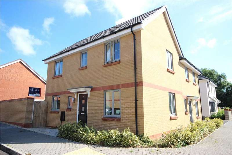 3 Bedrooms Semi Detached House for sale in Sorrel Place, Stoke Gifford, Bristol, BS34