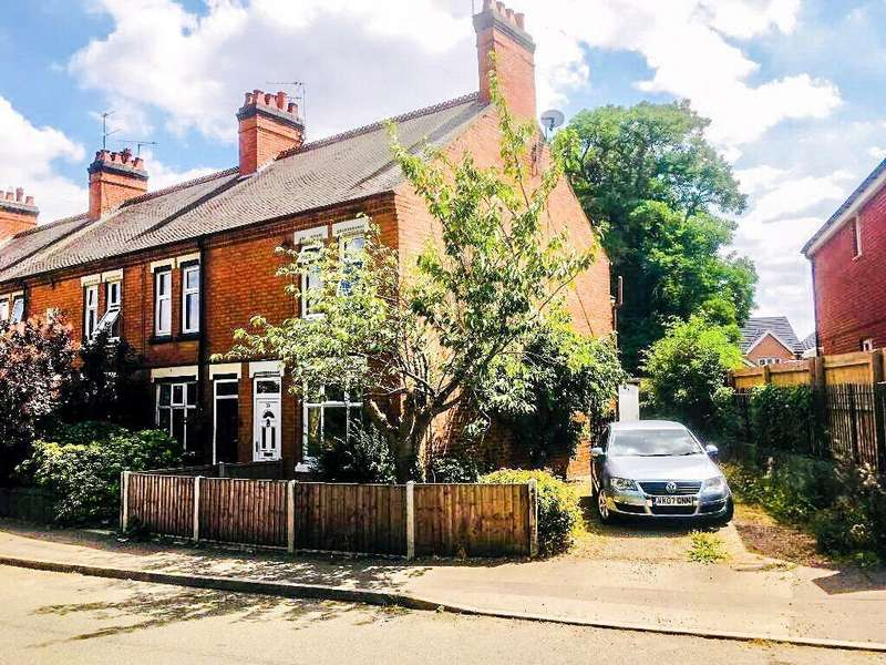 2 Bedrooms End Of Terrace House for sale in Huncote Road, Narborough, Leicester, Leicestershire, LE19 3GN