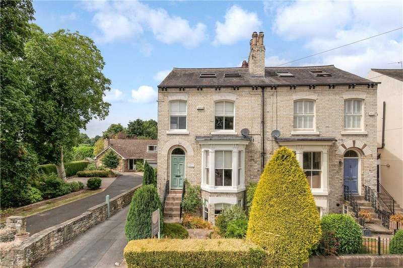 4 Bedrooms Semi Detached House for sale in Clifford Road, Boston Spa, Wetherby, West Yorkshire