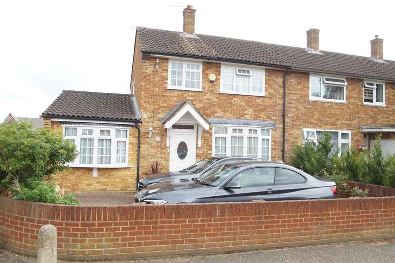 3 Bedrooms End Of Terrace House for sale in Umberville Way, Slough