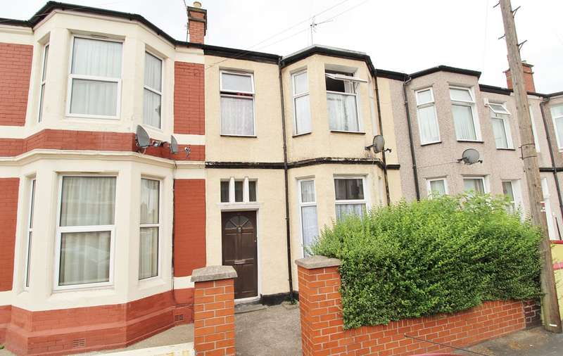 4 Bedrooms Terraced House for sale in Rugby Road, Newport, NP19