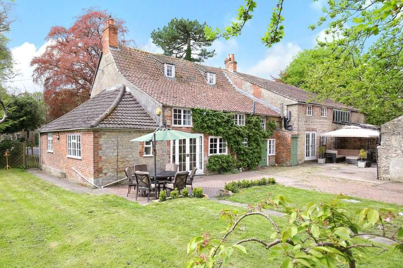 6 Bedrooms Detached House for sale in Hisomley Farm House