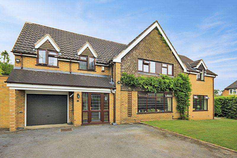 4 Bedrooms Detached House for sale in Longton Road, Barlaston