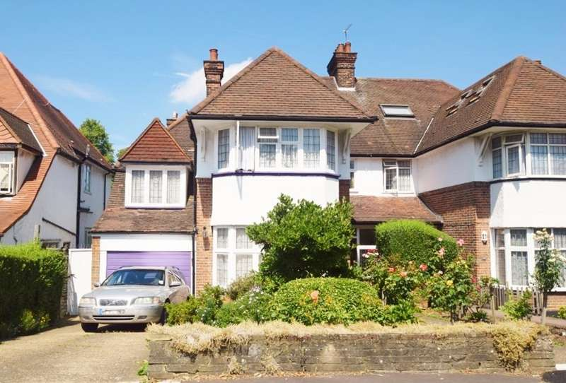 5 Bedrooms Semi Detached House for sale in ARMITAGE ROAD, GOLDERS GREEN, NW11