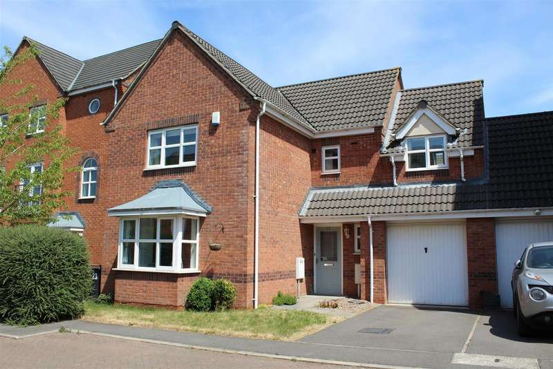 4 Bedrooms Property for sale in Brouder Close, Coalville