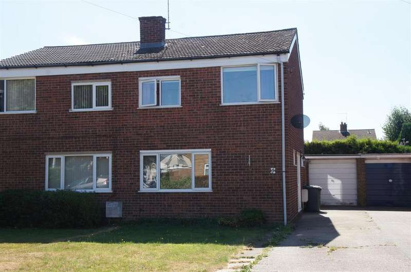 3 Bedrooms Semi Detached House for sale in Browns Close, Marston Moretaine, Bedford