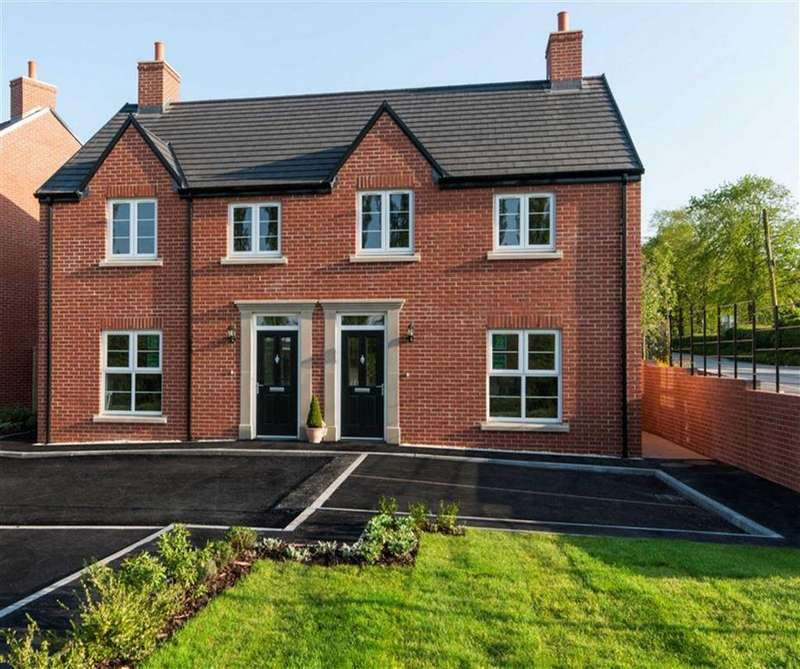 3 Bedrooms Semi Detached House for sale in Deer Park Lane, Butterley Park, Ripley