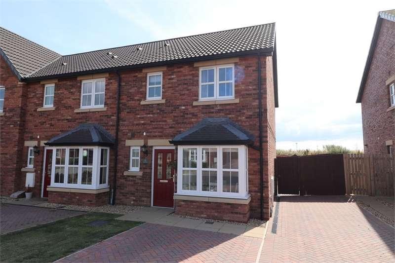 3 Bedrooms Semi Detached House for sale in CA6 4FB Elliot Drive, Crindledyke, Kingstown, Carlisle, Cumbria