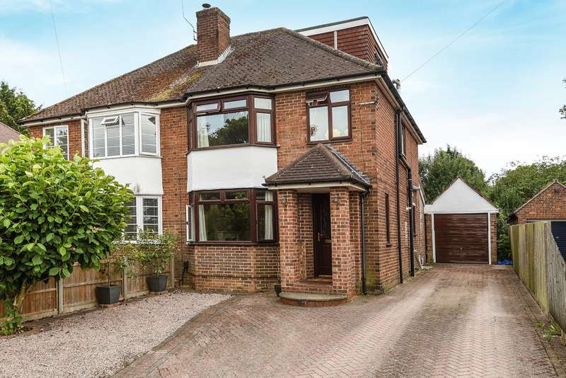 4 Bedrooms Semi Detached House for sale in Old Worting Road, Basingstoke, RG22
