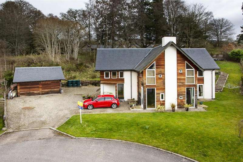 5 Bedrooms Detached House for sale in Croftcroy, Croftinloan, Pitlochry
