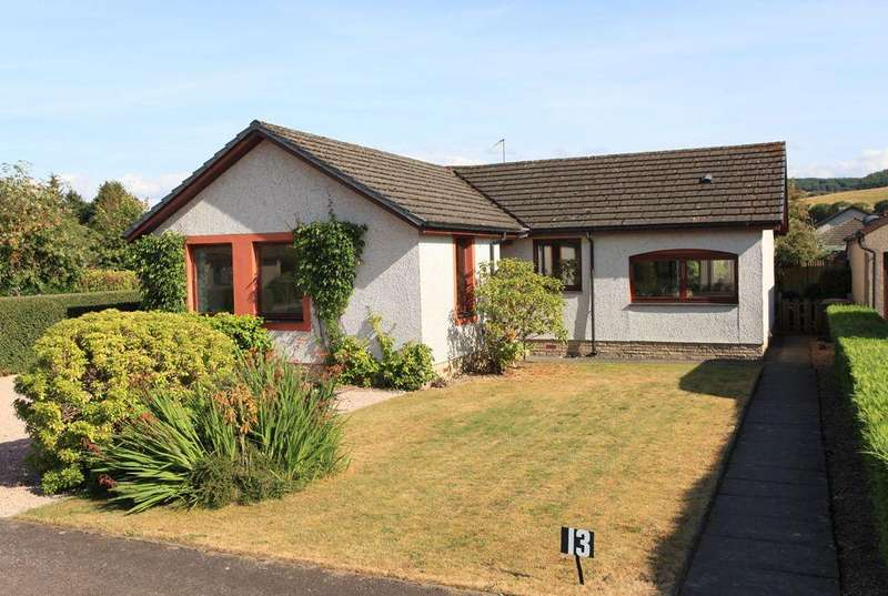 3 Bedrooms Detached Bungalow for sale in 13 Cowden Way, Comrie, Perthshire PH6 2NW