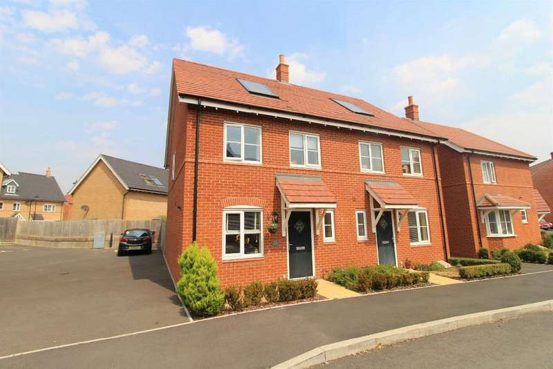3 Bedrooms Semi Detached House for sale in Cantley Road, Great Denham MK40