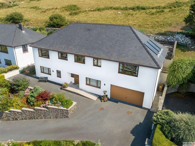 4 Bedrooms Detached House for sale in Plas Y Machlud, Gwastadgoed, Llwyngwril, Gwynedd, LL37