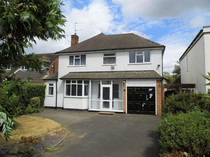 4 Bedrooms Detached House for sale in Hall Lane, Pelsall, Walsall
