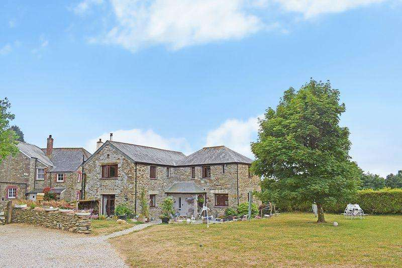3 Bedrooms Detached House for sale in Duloe, Cornwall