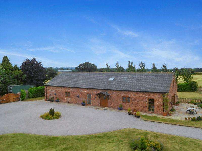 5 Bedrooms Detached House for sale in Hunsterson, CW5