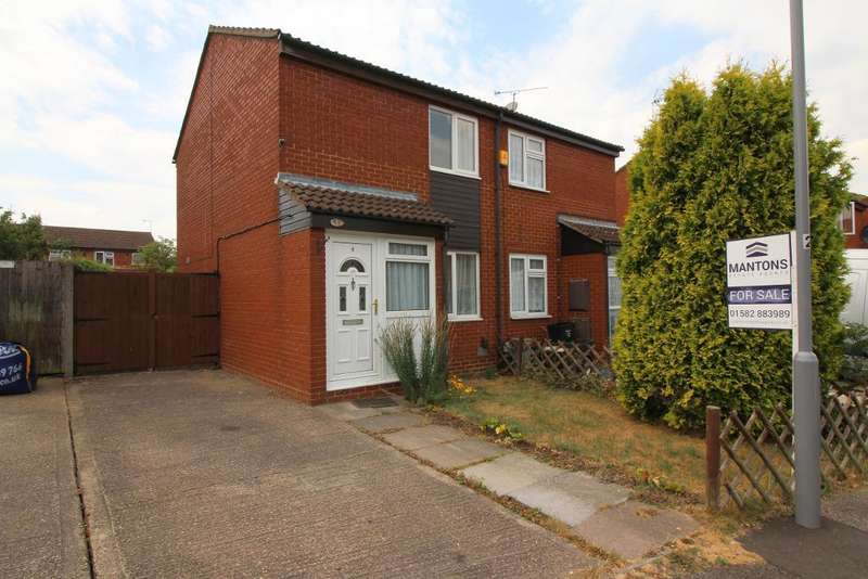 2 Bedrooms Semi Detached House for sale in Swallow Close, Luton, Bedfordshire, LU4 0XS