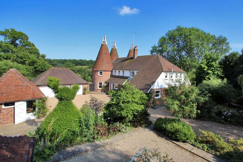 4 Bedrooms Detached House for sale in Willards Hill Farm, Ludpits Lane, Etchingham TN19 7DB