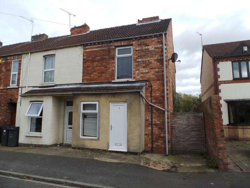 2 Bedrooms End Of Terrace House for sale in Woods Terrace, Gainsborough