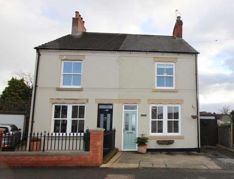2 Bedrooms Semi Detached House for sale in Littlemoor Lane, Newton, DE55