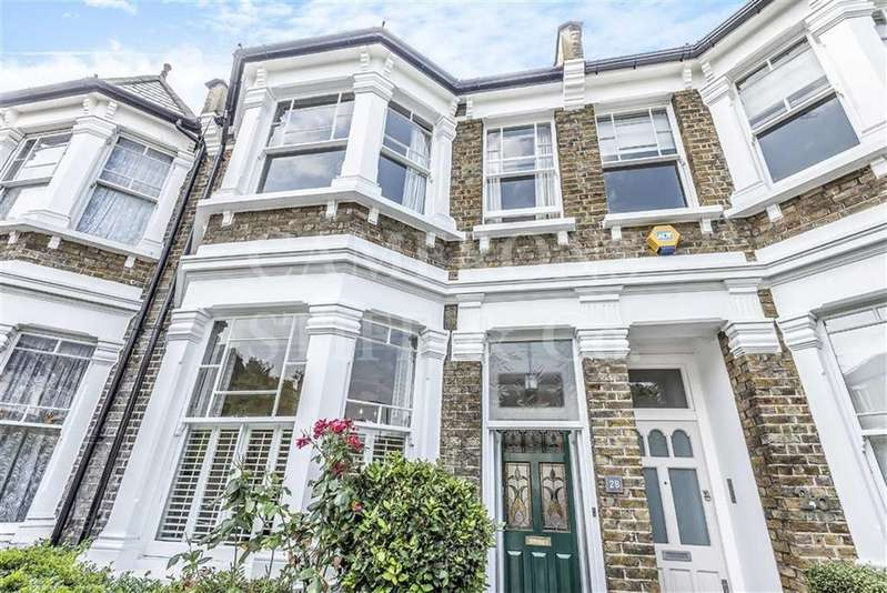 4 Bedrooms Terraced House for sale in Brooksville Avenue, Queens Park, London, NW6
