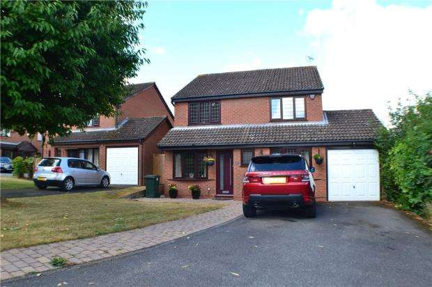 4 Bedrooms Detached House for sale in Cherrywood Grove, Allesley, Coventry, West Midlands