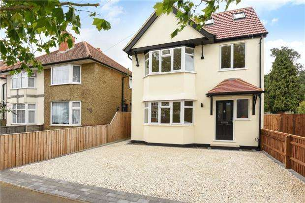 4 Bedrooms Detached House for sale in Vale Road, Windsor, Berkshire