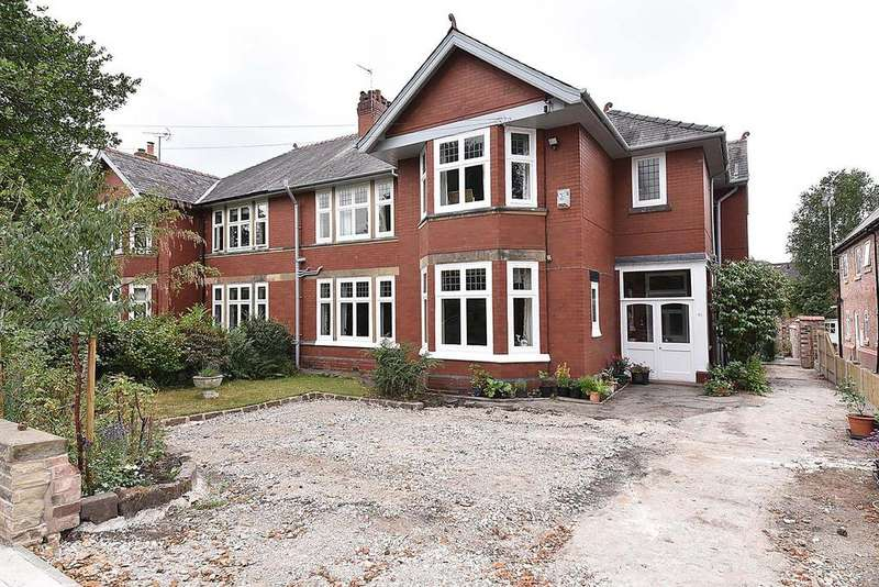 5 Bedrooms Semi Detached House for sale in Whitefield Road, Stockton Heath