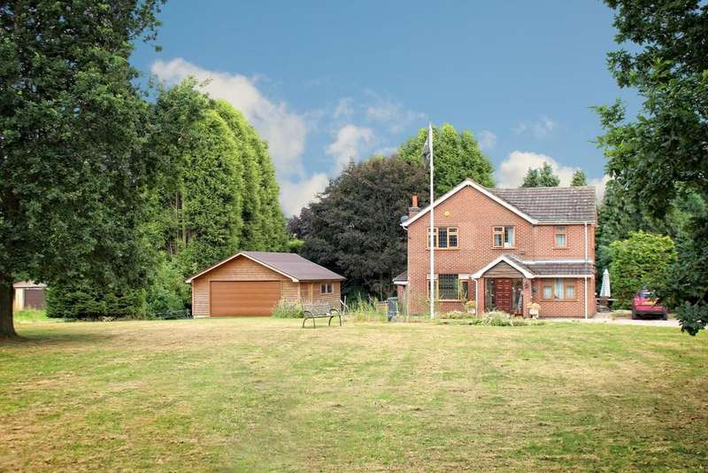 4 Bedrooms Country House Character Property for sale in Appleby Parva, Derbyshire, DE12