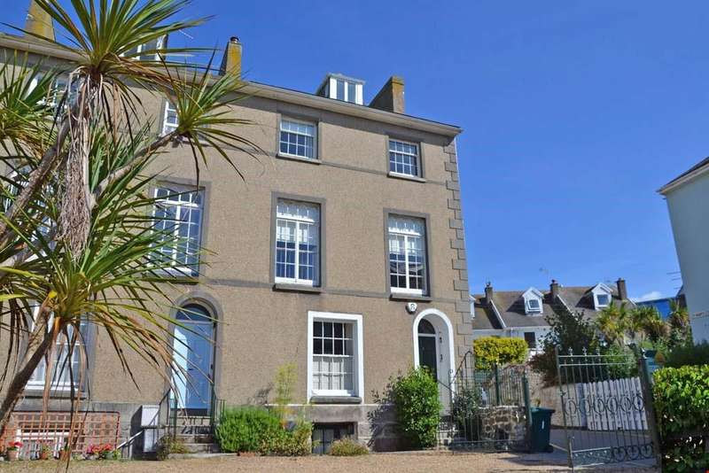 4 Bedrooms End Of Terrace House for sale in St Mary's Place, Penzance, West Cornwall