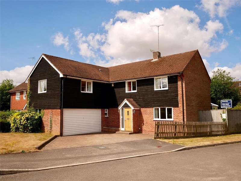 5 Bedrooms Detached House for sale in Lipscomb Close, Hermitage, Thatcham, Berkshire, RG18