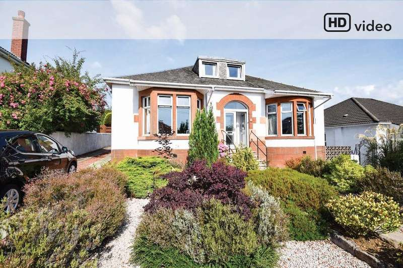 6 Bedrooms Detached Bungalow for sale in Melford Avenue, Giffnock, Glasgow, G46 6NA