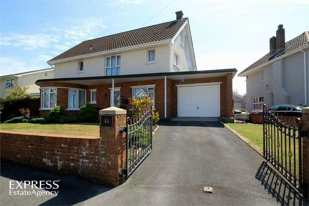 4 Bedrooms Detached House for sale in Spowart Avenue, Llanelli, Carmarthenshire