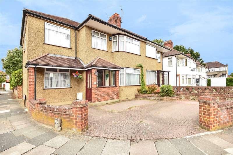 4 Bedrooms Semi Detached House for sale in Alderney Gardens, Northolt, Middlesex, UB5
