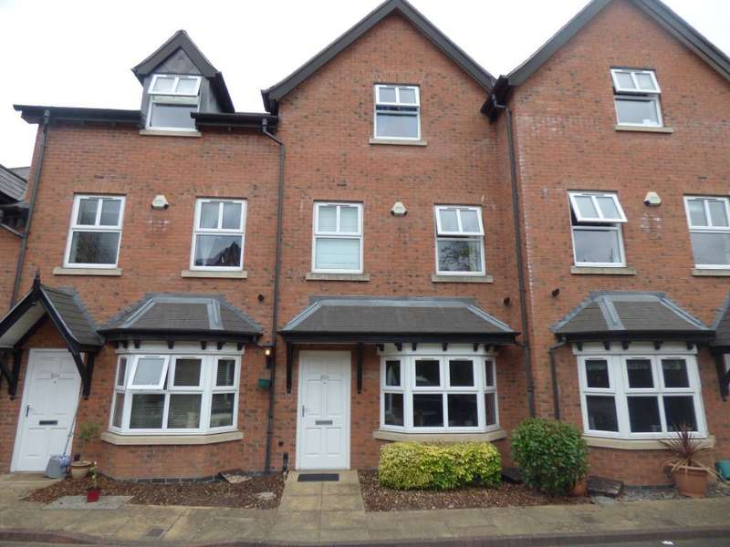 3 Bedrooms Town House for sale in Station Road, Harborne, Birmingham, B17 9LX