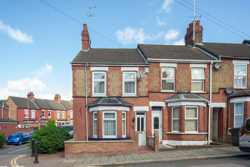 3 Bedrooms End Of Terrace House for sale in Ridgway Road, Luton