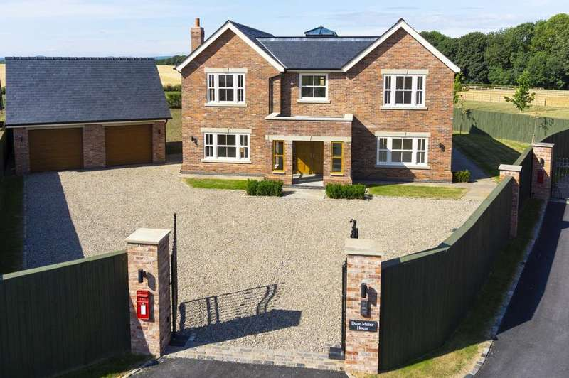 6 Bedrooms Detached House for sale in Dane Manor House, Northwich Road, Lower Whitley