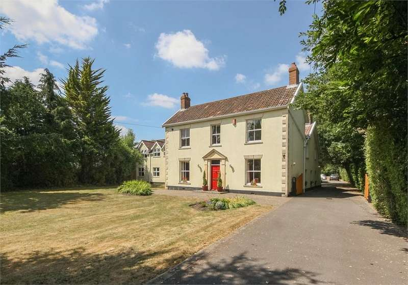 6 Bedrooms Detached House for sale in The Laurels, Old Coach Road, LOWER WEARE, Axbridge