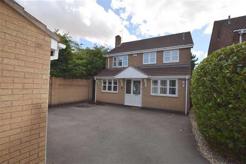 4 Bedrooms Detached House for sale in Herald Way, Burbage, Leicestershire