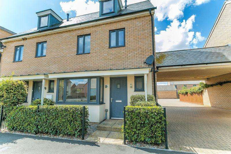 4 Bedrooms End Of Terrace House for sale in Selkirk Drive, Milton Keynes